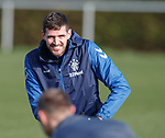 26.02.2019 Rangers training: Kyle Lafferty