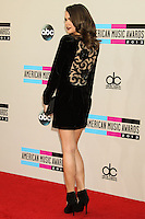 LOS ANGELES, CA - NOVEMBER 24: Maia Mitchell arriving at the 2013 American Music Awards held at Nokia Theatre L.A. Live on November 24, 2013 in Los Angeles, California. (Photo by Celebrity Monitor)