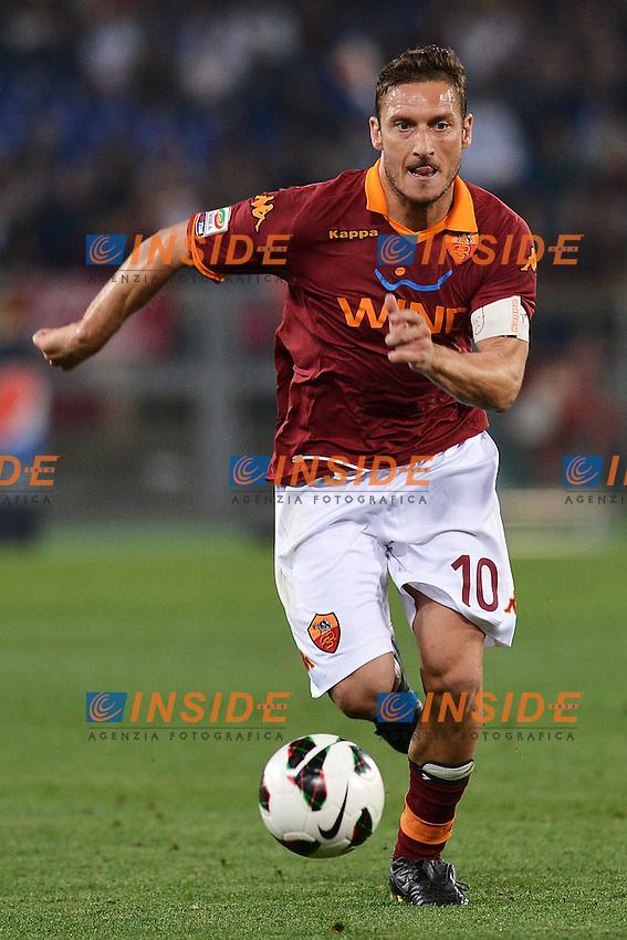 Francesco Totti Roma .Roma 07/05/2013 Stadio Olimpico.Football Calcio 2012/2013 Serie A.Roma Vs Chievo.Foto Andrea Staccioli Insidefoto