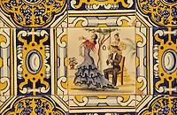 "Europe/Espagne/Catalogne/Barcelone : Salle du restaurant ""Casa Leopoldo"" - Azuleros 24 rue San Raphael"