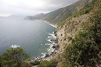 Una veduta della costa delle Cinque Terre.<br /> A view of the coast of the Cinque Terre.<br /> UPDATE IMAGES PRESS/Riccardo De Luca