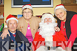 Santa Claus will be paying special visits to Castleisland Day Care Centre from the 13-19th December to entertain the senior citizens including l-r John Cremin Knocknagree, Peggy McCarthy Castleisland and Bridie Casey Scartaglen