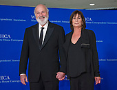Rob Reiber and Michele Singer Reiner arrive for the 2018 White House Correspondents Association Annual Dinner at the Washington Hilton Hotel on Saturday, April 28, 2018.<br /> Credit: Ron Sachs / CNP<br /> <br /> (RESTRICTION: NO New York or New Jersey Newspapers or newspapers within a 75 mile radius of New York City)