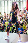 Malena Costa dancing during the presentation of Zumba Academy at Momo Caja Magica in Madrid, Spain. March 19, 2017. (ALTERPHOTOS/BorjaB.Hojas)