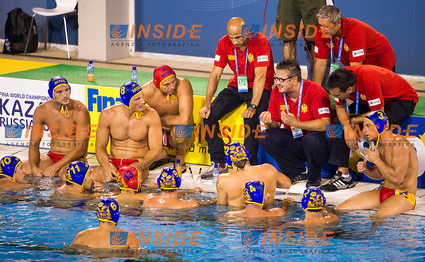 Hungary<br /> Hungary HUN (gold medal) - Montenegro MNE (silver medal)<br /> final 1st-2nd<br /> 15 FINA World Aquatics Championships<br /> Day-15 Waterpolo Men<br /> Barcelona 19 July - 4 August 2013<br /> Photo G.Barbagelata/Insidefoto/Deepbluemedia.eu