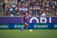 Orlando, FL - Thursday June 23, 2016: Kristen Edmonds during a regular season National Women's Soccer League (NWSL) match between the Orlando Pride and the Houston Dash at Camping World Stadium.