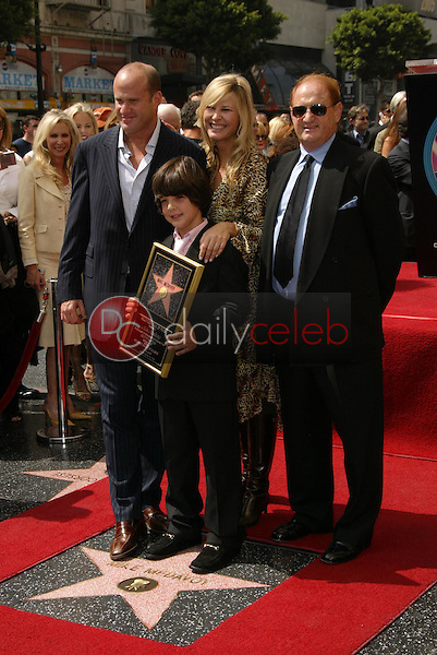 Mike Medavoy with Irena Ferris and their family<br />at the Ceremony Honoring him with a star on the Hollywood Walk of Fame. Hollywood Boulevard, Hollywood, CA. 09-19-05<br />Dave Edwards/DailyCeleb.Com 818-249-4998