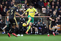 Nelson Oliveira of Norwich City with the ball during Norwich City vs Millwall, Sky Bet EFL Championship Football at Carrow Road on 1st January 2018