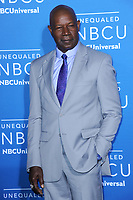 www.acepixs.com<br /> May 15, 2017  New York City<br /> <br /> Dennis Haysbert attending the 2017 NBCUniversal Upfront at Radio City Music Hall on May 15, 2017 in New York City.<br /> <br /> Credit: Kristin Callahan/ACE Pictures<br /> <br /> <br /> Tel: 646 769 0430<br /> Email: info@acepixs.com