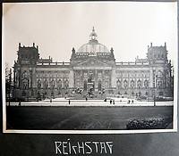 BNPS.co.uk (01202 558833)<br /> Pic: Jones&Jacob/BNPS<br /> <br /> The Reichstag before the start of the war.<br /> <br /> Springtime for Hitler...Chilling album of pictures taken by one of Hitlers bodyguards illustrates the Nazi dictators rise to power.<br /> <br /> An unseen album of photographs taken by a member of Hitlers own elite SS bodyguard division in the years leading up to the start of WW2.<br /> <br /> The 1st SS Panzer Division 'Leibstandarte SS Adolf Hitler' or LSSAH began as Adolf Hitler's personal bodyguard in the 1920's responsible for guarding the Führer's 'person, offices, and residences'.