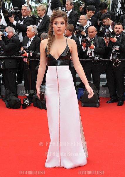 Adele Exarchopoulos at the gala premiere of &quot;Grace of Monaco&quot; at the 67th Festival de Cannes.<br /> May 14, 2014  Cannes, France<br /> Picture: Paul Smith / Featureflash