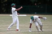 Harold Wood CC vs Shenfield CC (batting), Essex Cricket League Cricket at Harold Wood Park on 25th July 2020