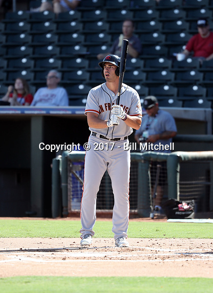 Chris Shaw - Scottsdale Scorpions - 2017 Arizona Fall League (Bill Mitchell)