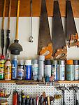 Collection. Garage worktable.