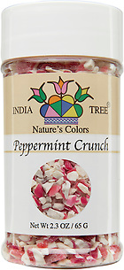 10819 Nature's Colors Peppermint Crunch, Small Jar 2.3 oz