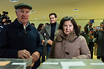 The candidate for the presidency of the government for Ciudadanos, Albert Rivera, goes to vote<br /> November 11, 2019. <br /> (ALTERPHOTOS/David Jar)
