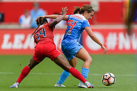 Bridgeview, IL - Saturday June 17, 2017: Francisca Ordega, Danielle Colaprico during a regular season National Women's Soccer League (NWSL) match between the Chicago Red Stars and the Washington Spirit at Toyota Park. The match ended in a 1-1 tie.