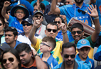 A lone yellow and green shirt in a sea of blue during India vs Australia, ICC World Cup Cricket at The Oval on 9th June 2019