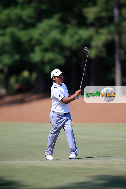 Fabian Gomez (ARG) during round 1of the Players, TPC Sawgrass, Championship Way, Ponte Vedra Beach, FL 32082, USA. 12/05/2016.<br /> Picture: Golffile | Fran Caffrey<br /> <br /> <br /> All photo usage must carry mandatory copyright credit (&copy; Golffile | Fran Caffrey)