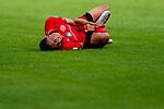 Jean-Paul Boëtius / Boetius (FSV Mainz 05 #05), Verletzung / verletzt / Schmerzen<br /> <br /> <br /> Sport: nphgm001: Fussball: 1. Bundesliga: Saison 19/20: 33. Spieltag: 1. FSV Mainz 05 vs SV Werder Bremen 20.06.2020<br /> <br /> Foto: gumzmedia/nordphoto/POOL <br /> <br /> DFL regulations prohibit any use of photographs as image sequences and/or quasi-video.<br /> EDITORIAL USE ONLY<br /> National and international News-Agencies OUT.