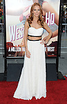 Challen Cates attending the world premiere of 'A Million Ways To Die In The West' held at the Regency Village Theatre Los Angeles, CA. May 15, 2014.