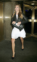 June 04, 2012: Heather Thomson at NBC Studios to talk about the new season of the Real Housewives of New York. © RW/MediaPunch Inc. ***NO GERMANY*** ***NO AUSTRIA***
