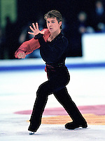 Alexei Yagudin Russian figure skater. Photo copyright Scott Grant