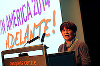 Latin America 2014 Conference<br /> Adelante!<br /> <br /> Christine Blower<br /> General Secretary, National Union of Teachers