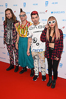 DNCE<br /> at WE Day 2016 at Wembley Arena, London<br /> <br /> <br /> &copy;Ash Knotek  D3096 09/03/2016