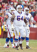 Buffalo Bills offensive guard Richie Incognito (64) returns to the huddle during the fourth quarter of the game against the Washington Redskins at FedEx Field in Landover, Maryland on Sunday, December 20, 2015.  The Redskins won the game 35-25.<br /> Credit: Ron Sachs / CNP