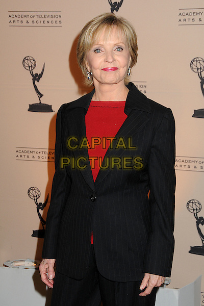 FLORENCE HENDERSON .Academy of Television Arts & Sciences' 20th Annual Hall of Fame Induction Gala held at the Beverly Hills Hotel, Beverly Hills, California, USA,.20th January 2011..half length black red jacket suit .CAP/ADM/BP.©Byron Purvis/AdMedia/Capital Pictures.