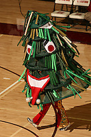 27 October 2005: The Stanford Tree during Stanford's 3-0 win over Oregon at Maples Pavilion in Stanford, CA.