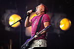 © Joel Goodman - 07973 332324. 05/08/2017 . Macclesfield , UK . PETER HOOK and The Light perform at the Rewind Festival celebrating 1980s music and culture , at Capesthorne Hall in Siddington , Cheshire . Photo credit : Joel Goodman