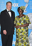 Al Gore and Dr. Wangari Muta arriving at the 40th NAACP Image Awards held at the Shrine Auditorium Los Angeles, Ca. February 12, 2009. Fitzroy Barrett