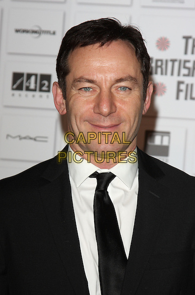 JASON ISAACS .Attending the Moet British Independent Film Awards 2010 held at Old Billingsgate, London, England, UK, December 5th 2010..portrait headshot black suit tie white shirt .CAP/ROS.©Steve Ross/Capital Pictures.