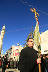 Christmas in Bethlehem, Syrian Orthodox procession in Manger Square