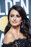 Penelope Cruz arrives at the 75th Annual Golden Globe Awards at the Beverly Hilton in Beverly Hills, CA on Sunday, January 7, 2018.<br /> *Editorial Use Only*<br /> CAP/PLF/HFPA<br /> &copy;HFPA/PLF/Capital Pictures