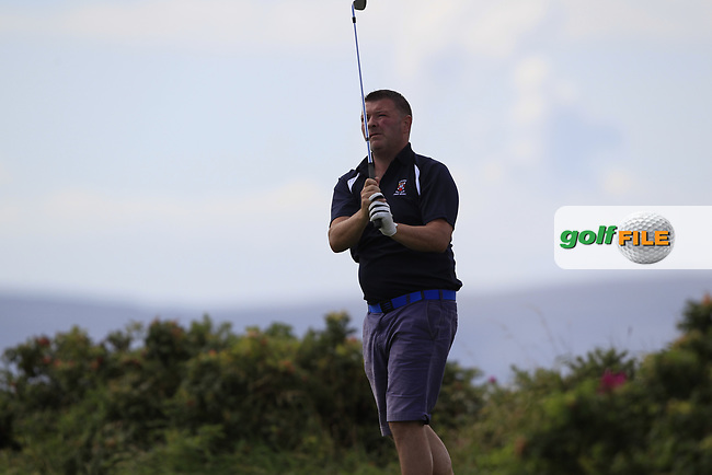 Kieran Horkan (Castlebar) during the final of the AIG Jimmy Bruen Shield Connacht Final, in Galway Bay Golf Club, Galway, Ireland. 12/08/2017<br /> Picture: Fran Caffrey / Golffile