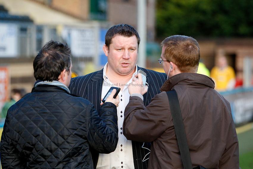 Photo: Richard Lane/Richard Lane Photography. London Wasps v London Irish. 02/03/2012. Wasps' Director of rugby, Dai Young.