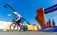Commonwealth Games - Road Cycling: Time Trial - Currumbin Beachfront, Gold Coast, Australia - Hamish Bond of New Zealand competes in the Men's Individual Time Trial. 10 April 2018. Picture by Alex Whitehead / www.photosport.nz /SWpix.com /SWpix.com