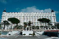 The famous Carlton Hotel, Cannes, France