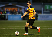 Cameron James of Maidstone in action during Maidstone United vs Torquay United, Emirates FA Cup Football at the Gallagher Stadium on 9th November 2019