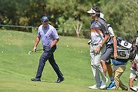 Phil Mickelson (USA) chats with Bubba Watson (USA) as they approach the 13th green during round 1 of the World Golf Championships, Mexico, Club De Golf Chapultepec, Mexico City, Mexico. 3/1/2018.<br /> Picture: Golffile | Ken Murray<br /> <br /> <br /> All photo usage must carry mandatory copyright credit (&copy; Golffile | Ken Murray)