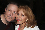 "Loving's Susan Keith came to see her husband in the play ""The Crusade of Connor Stephens"" - The Story Of An American Tragedy on opening night on July 20, 2016 at The 17th Annual Midtown International Theatre Festival at the Workshop Theater, New York City, New York and posing with her is Todd Adams.  (Photo by Sue Coflin/Max Photos)"