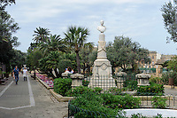 Florianapark in Valletta, Malta, Europa, Unesco-Weltkulturerbe