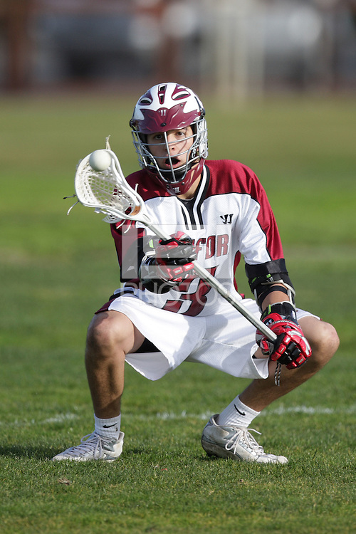 9 February 2008: Action during Stanford's 17-3 win over Williamette at the IM South Field in Stanford, CA.