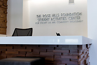 Photo of the Rose Hills Foundation Student Activities Center in the Johnson Student Center, Aug. 2, 2013.<br />