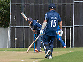 Issued by Cricket Scotland - Scotland V Afghanistan 2nd One Day International - Grange CC - Matthew Cross facing - picture by Donald MacLeod - 10.05.19 - 07702 319 738 - clanmacleod@btinternet.com - www.donald-macleod.com