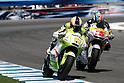 July 25, 2010 - Laguna Seca, USA - Tuenti Racing's Pol Espargaro powers his bike during U.S. Grand Prix held on July 25, 2010. (Photo Andrew Northcott/Nippon News)