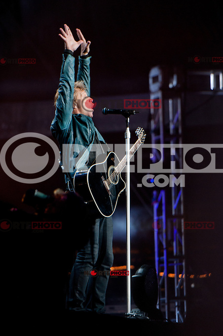 Bon Jovi Performs at day 3 of the Bamboozle Festival in Asbury Park, New Jersey May 20, 2012. © Kristen Driscoll/MediaPunch Inc.
